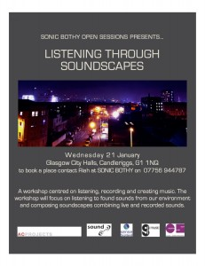Sonic Bothy Soundscapes2 jan 2015